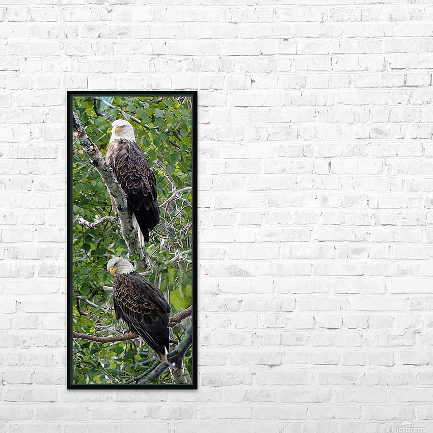 Watchful1 HD Sublimation Metal print with Decorating Float Frame (BOX)