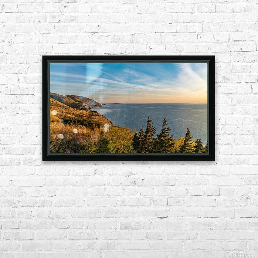Coastal Pleasures HD Sublimation Metal print with Decorating Float Frame (BOX)