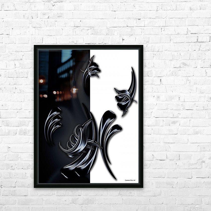 My Rising Projection HD Sublimation Metal print with Decorating Float Frame (BOX)