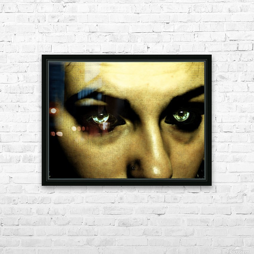 A (1) HD Sublimation Metal print with Decorating Float Frame (BOX)