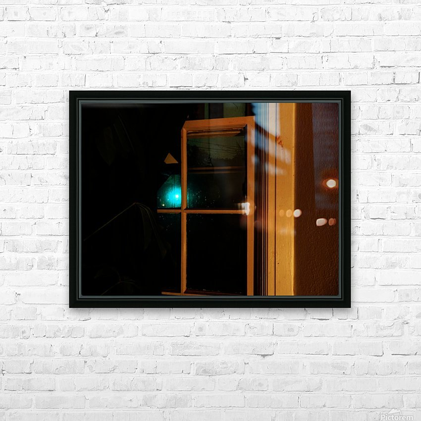B (5) HD Sublimation Metal print with Decorating Float Frame (BOX)