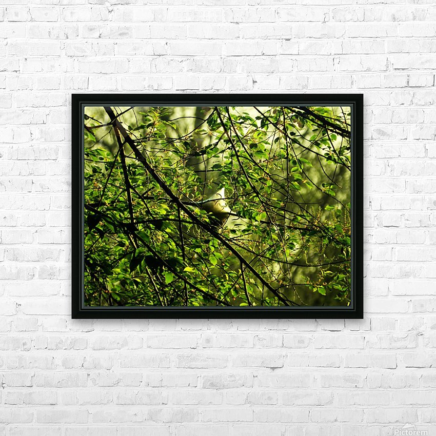 B (2) HD Sublimation Metal print with Decorating Float Frame (BOX)