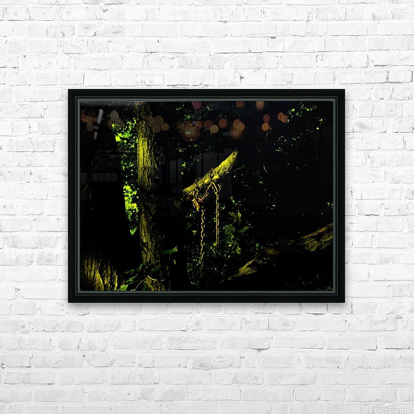 B (4) HD Sublimation Metal print with Decorating Float Frame (BOX)