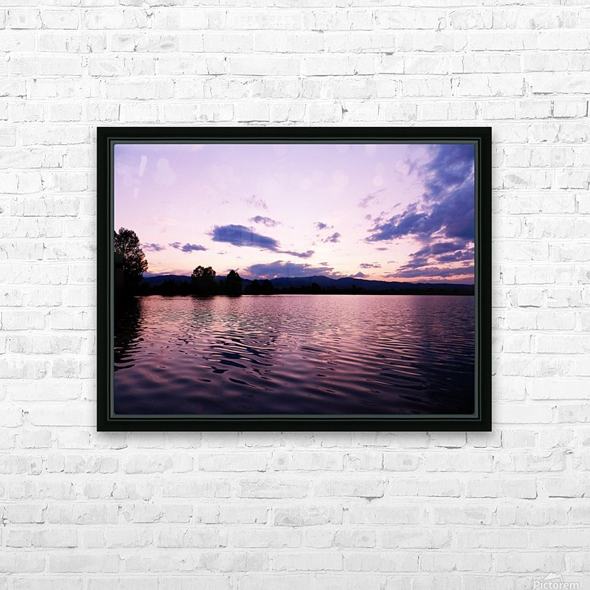 B (14) HD Sublimation Metal print with Decorating Float Frame (BOX)