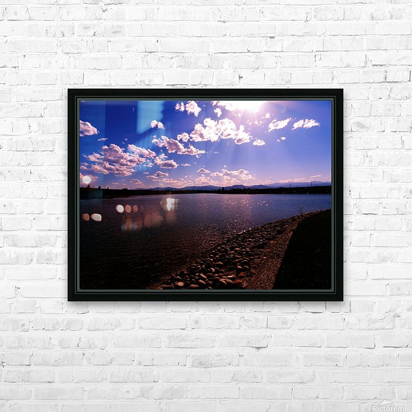 B (11) HD Sublimation Metal print with Decorating Float Frame (BOX)