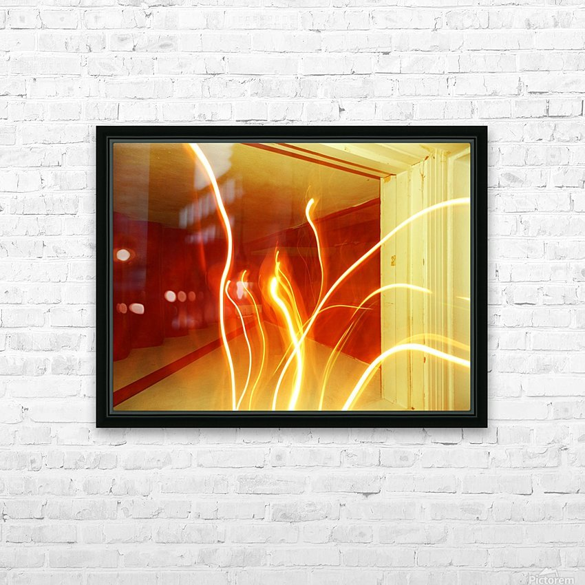 B (7) HD Sublimation Metal print with Decorating Float Frame (BOX)