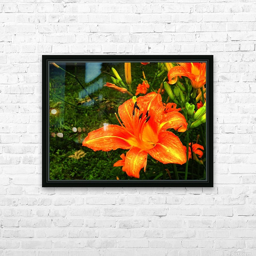 C (7) HD Sublimation Metal print with Decorating Float Frame (BOX)