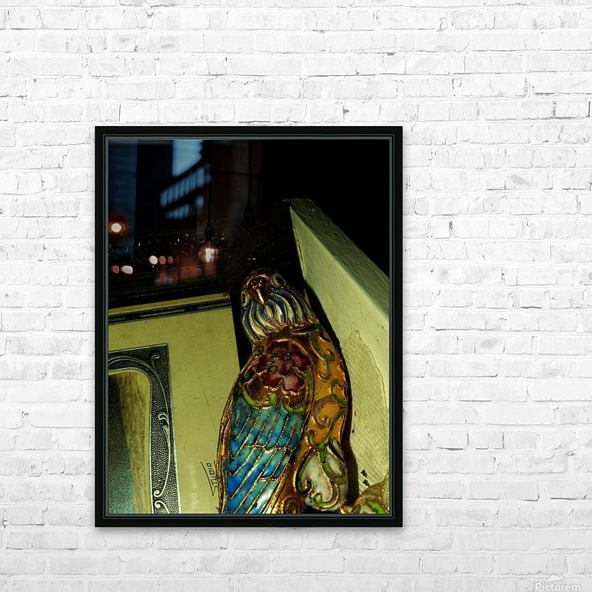 D (4) HD Sublimation Metal print with Decorating Float Frame (BOX)