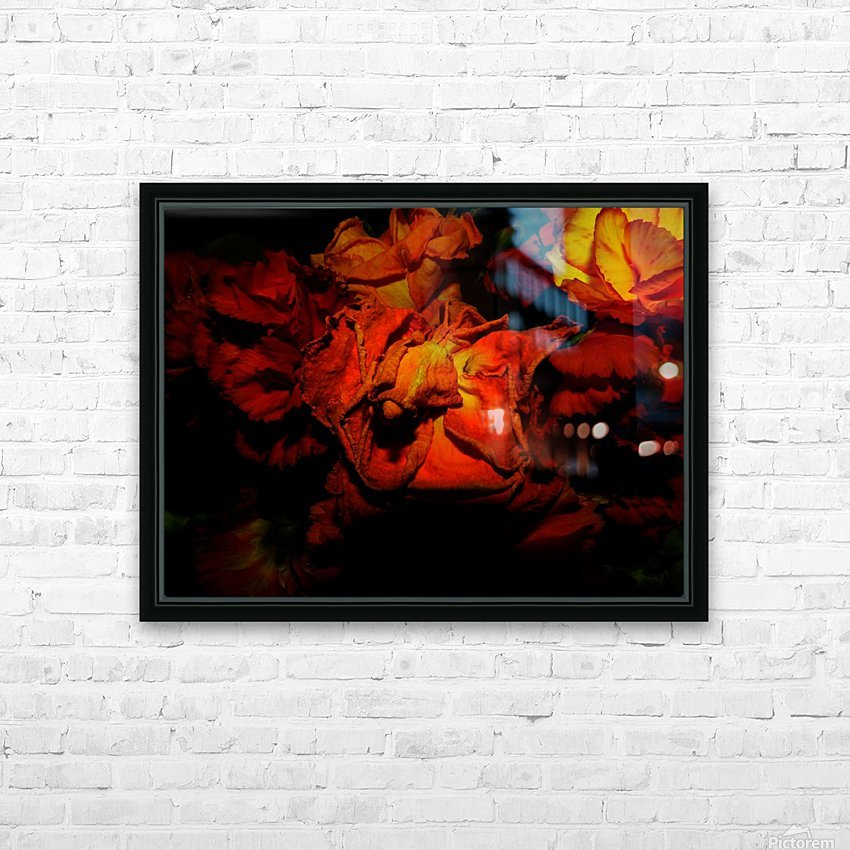 D (5) HD Sublimation Metal print with Decorating Float Frame (BOX)