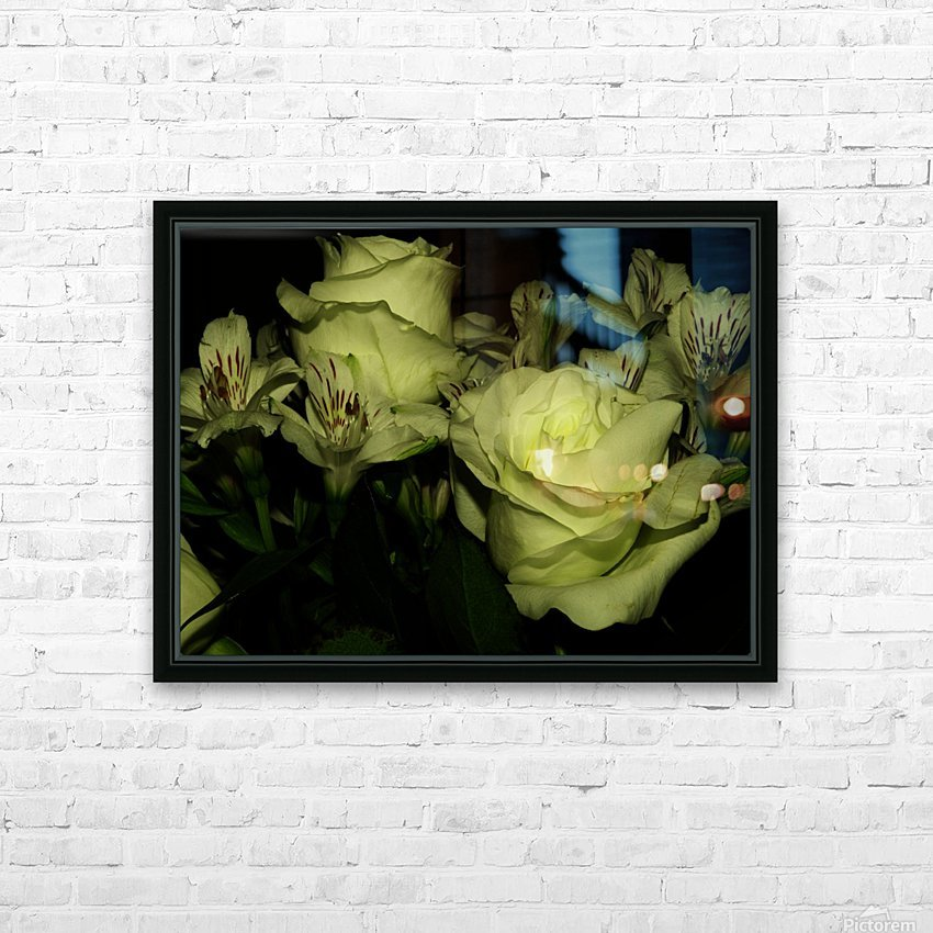 D (3) HD Sublimation Metal print with Decorating Float Frame (BOX)