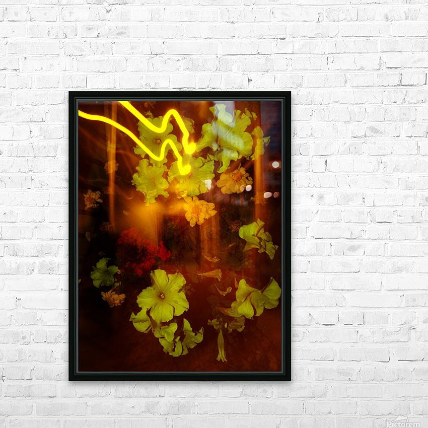 E (12) HD Sublimation Metal print with Decorating Float Frame (BOX)