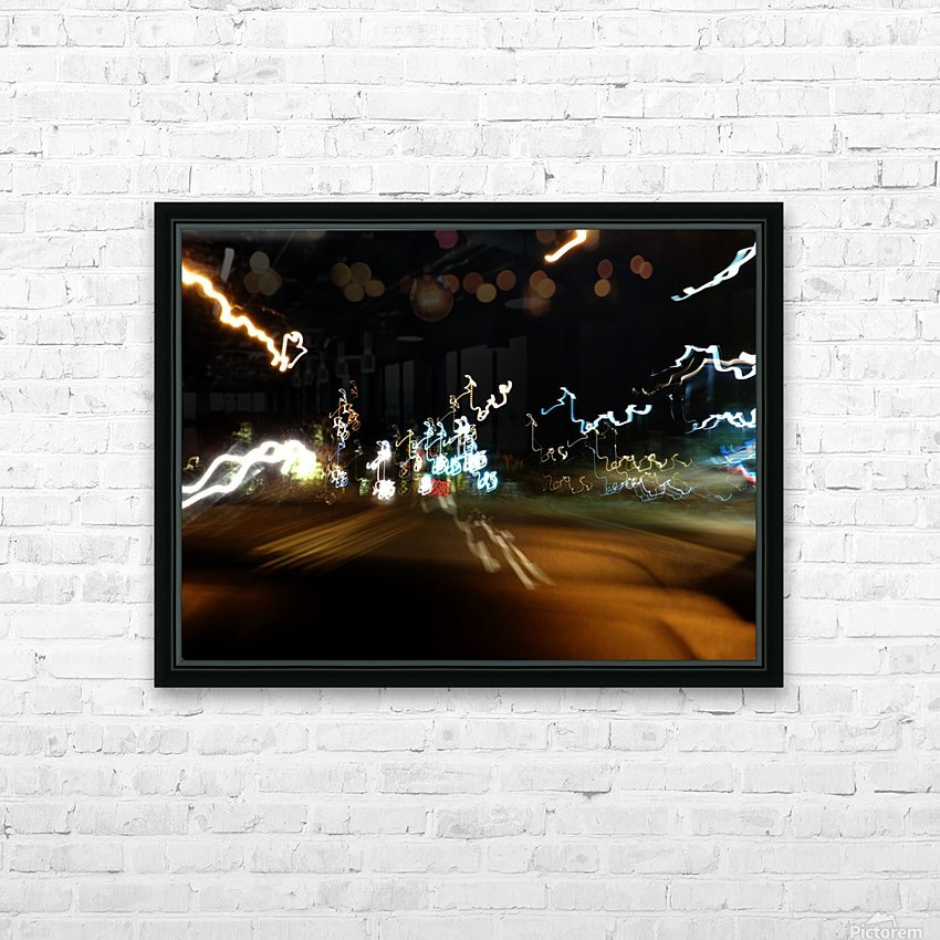 E (6) HD Sublimation Metal print with Decorating Float Frame (BOX)