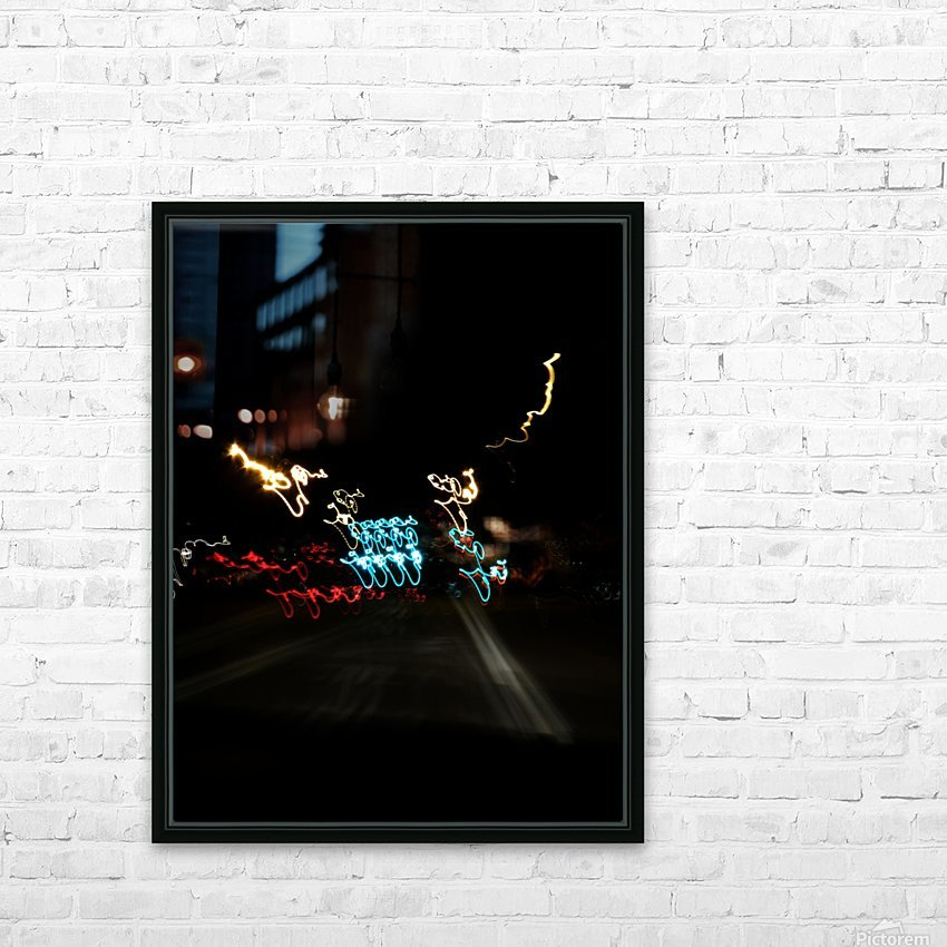 sofn-26F28627 HD Sublimation Metal print with Decorating Float Frame (BOX)