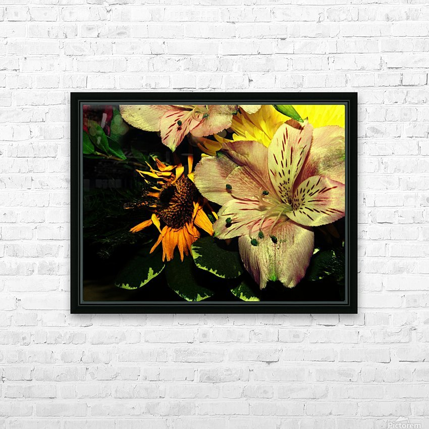 E (1) HD Sublimation Metal print with Decorating Float Frame (BOX)