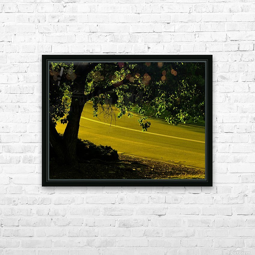 H (14) HD Sublimation Metal print with Decorating Float Frame (BOX)