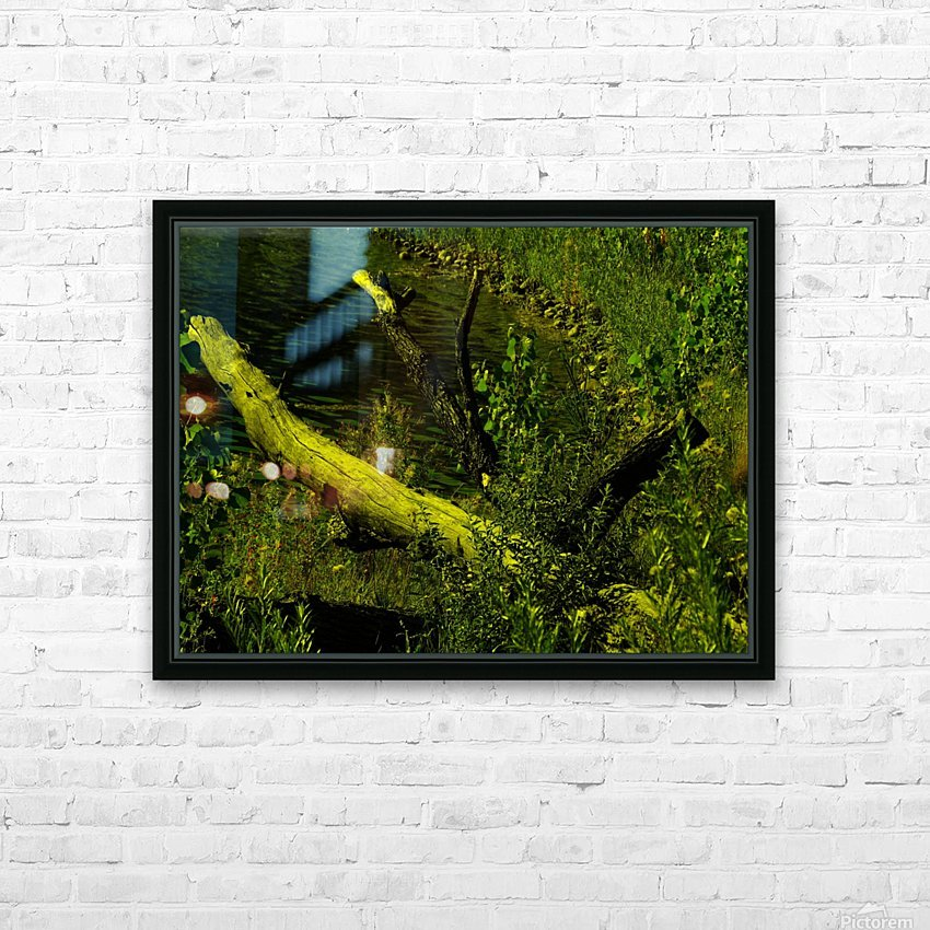 H (7) HD Sublimation Metal print with Decorating Float Frame (BOX)