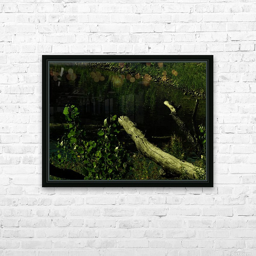 H (6) HD Sublimation Metal print with Decorating Float Frame (BOX)