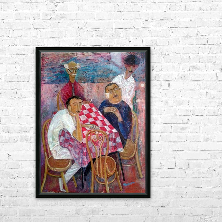 27.By the Sea 2016year80x60cmOriginal Painting Oil on Canvas5500$ HD Sublimation Metal print with Decorating Float Frame (BOX)