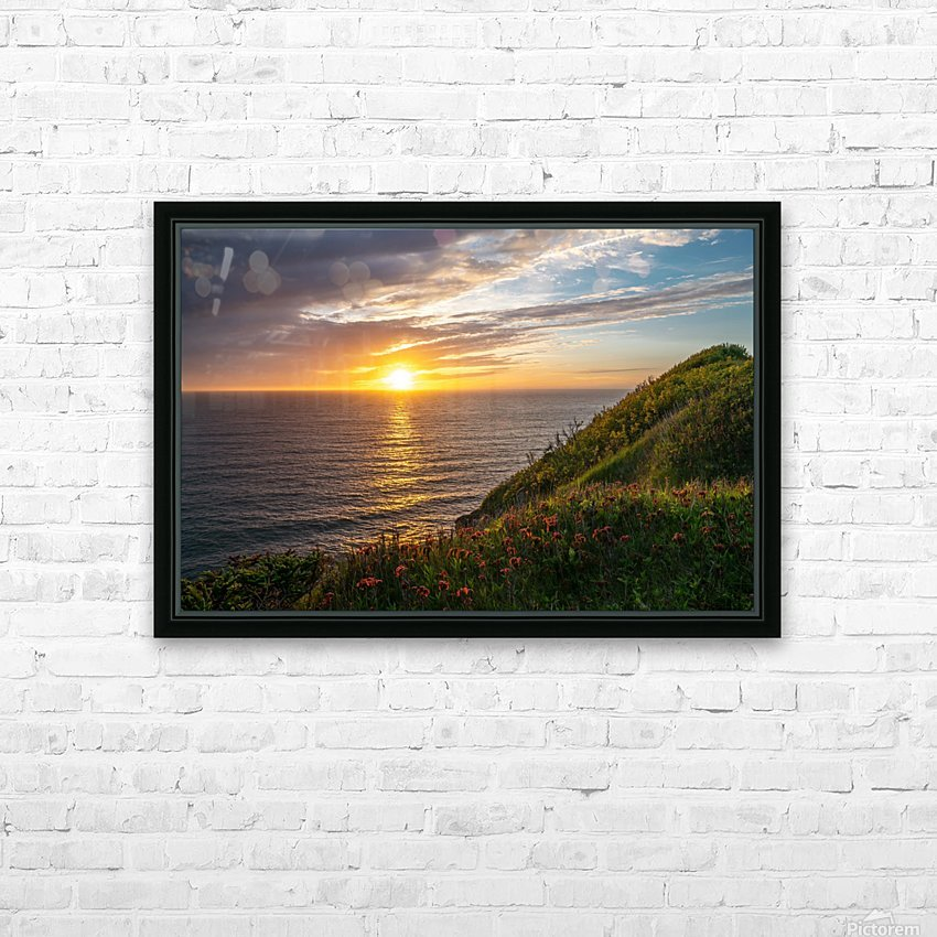 Glorious Light HD Sublimation Metal print with Decorating Float Frame (BOX)