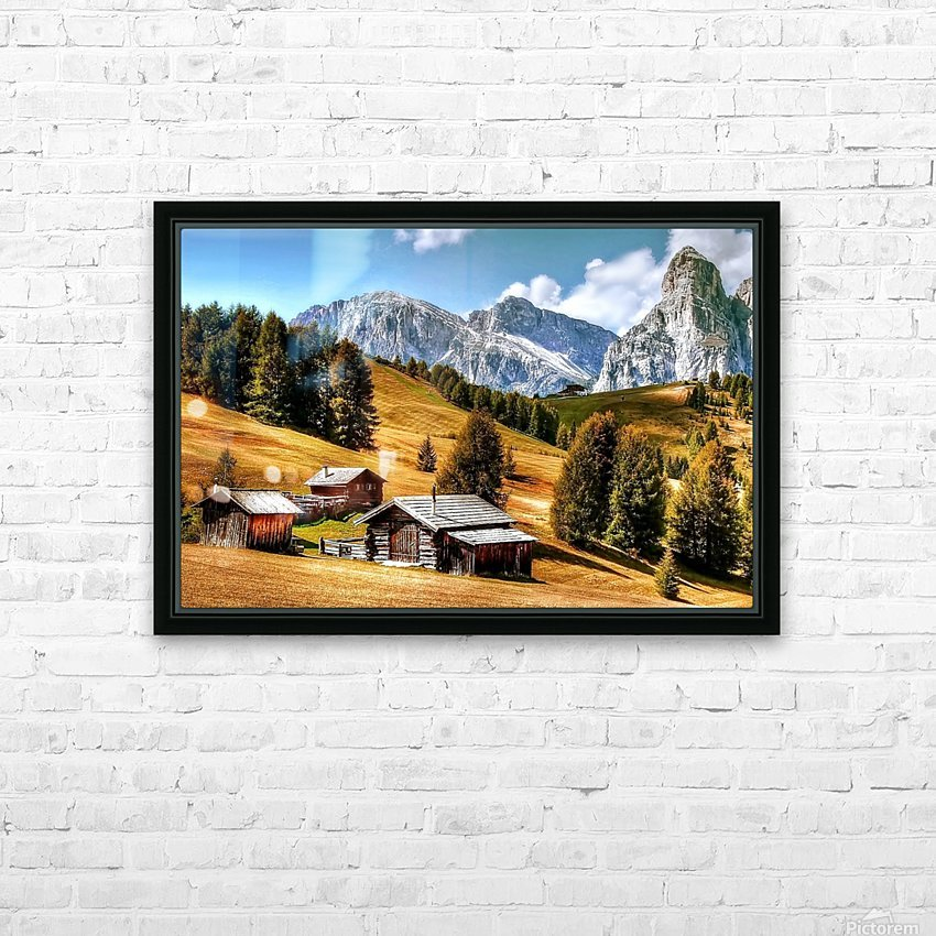 Italy DL_2179605 HD Sublimation Metal print with Decorating Float Frame (BOX)