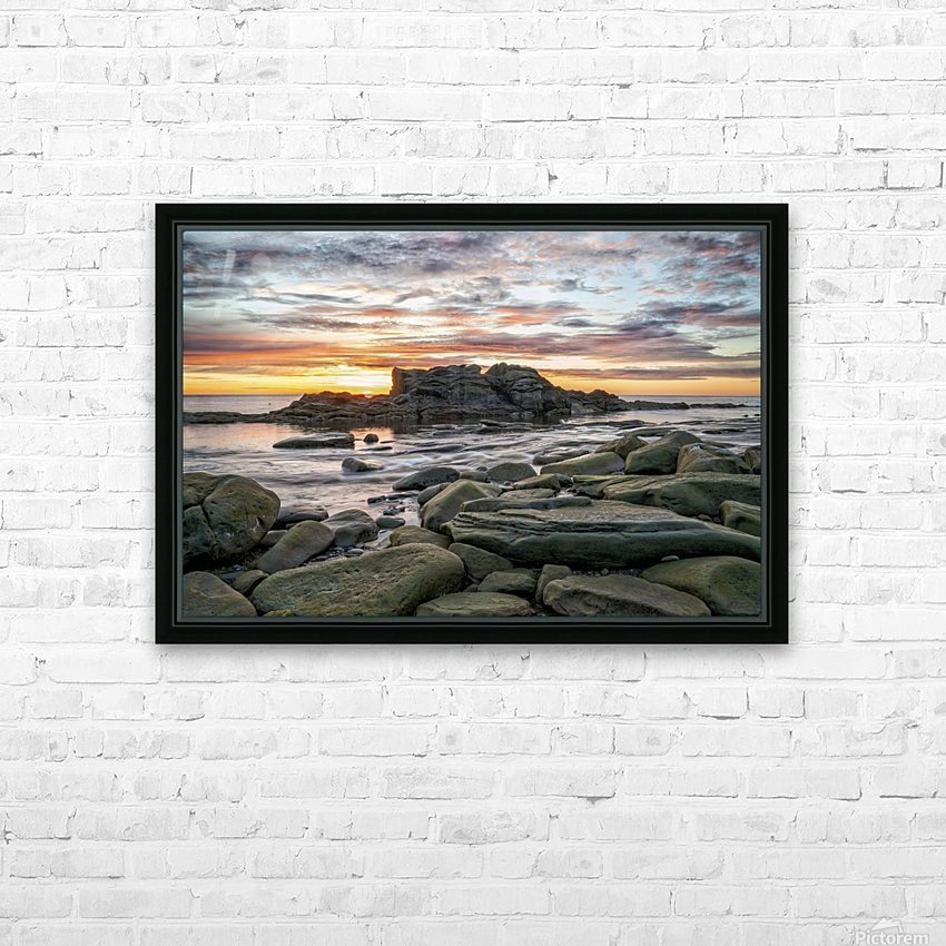The Big Rock HD Sublimation Metal print with Decorating Float Frame (BOX)