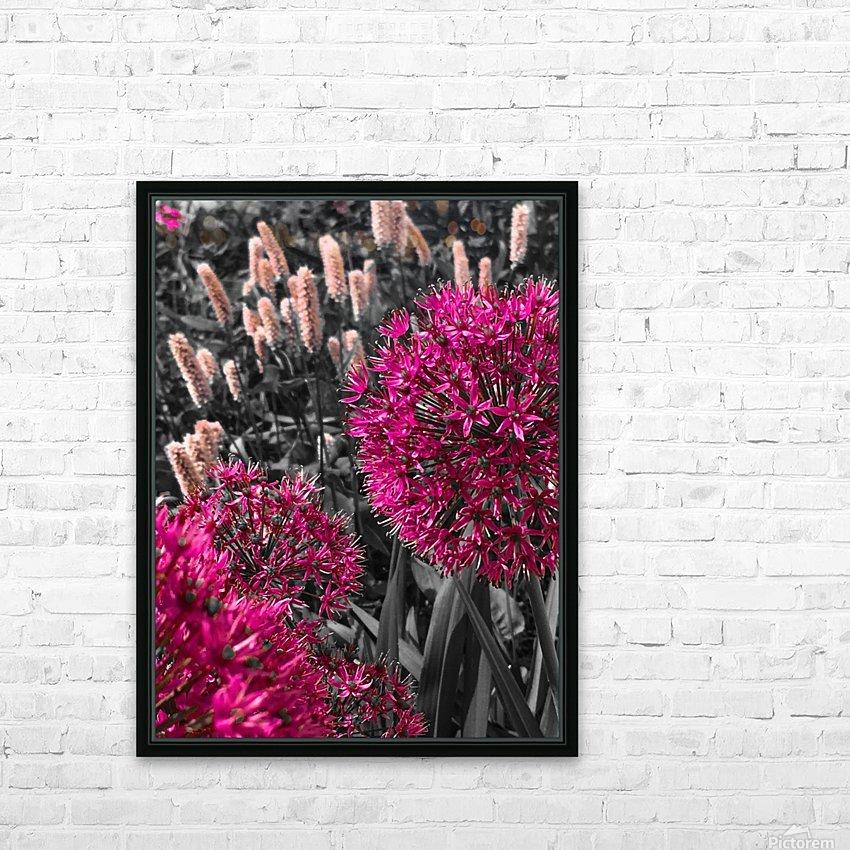 Collection Vinyasa 1 HD sublimation métal imprimé avec décoration flotteur cadre (boîte)