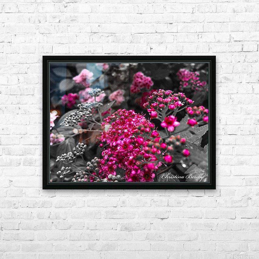 Collection Vinyasa .2 HD sublimation métal imprimé avec décoration flotteur cadre (boîte)