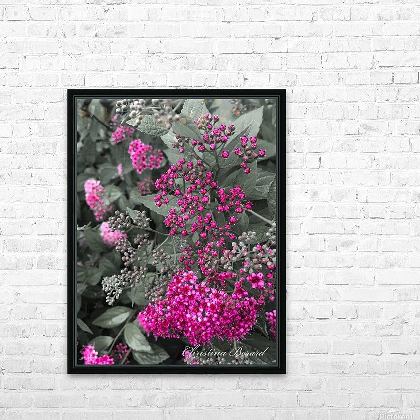 Collection Vinyasa .3  HD sublimation métal imprimé avec décoration flotteur cadre (boîte)