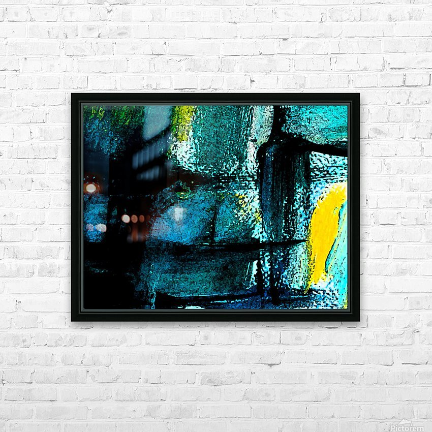 Abstract emotion  HD Sublimation Metal print with Decorating Float Frame (BOX)