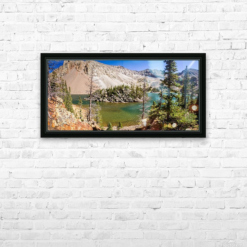 Lake Agnes Colorado  HD Sublimation Metal print with Decorating Float Frame (BOX)