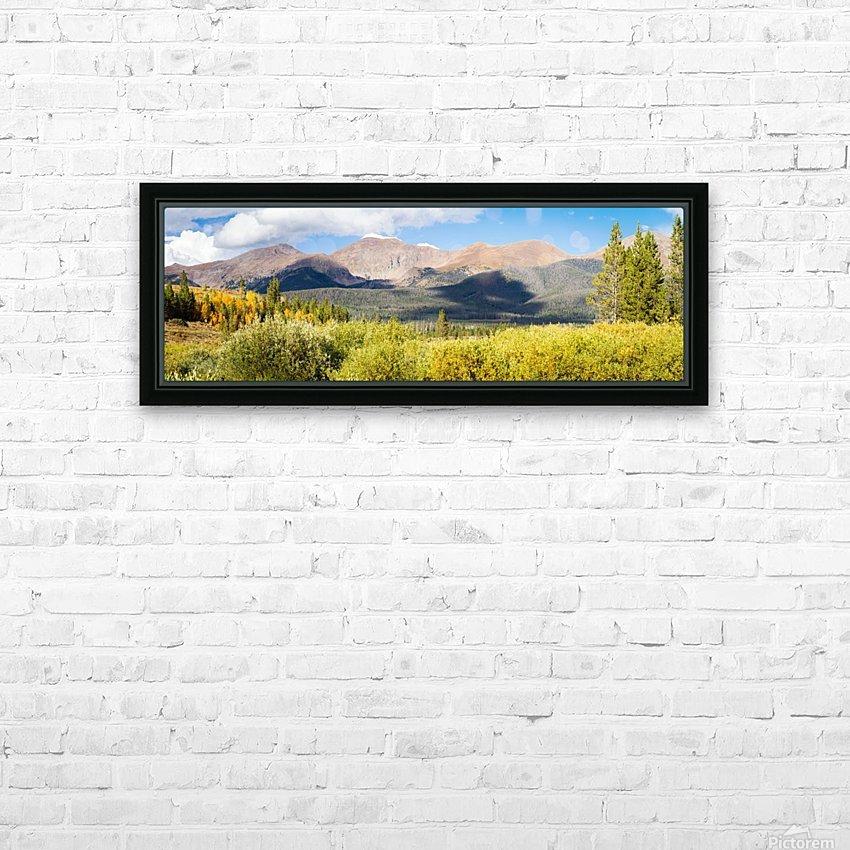 North Park Colorado  HD sublimation métal imprimé avec décoration flotteur cadre (boîte)