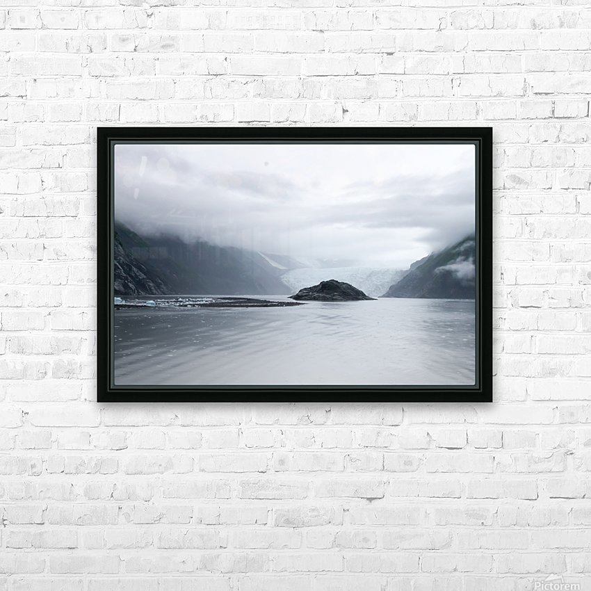 Alaska - Prince William Sound Photo HD Sublimation Metal print with Decorating Float Frame (BOX)