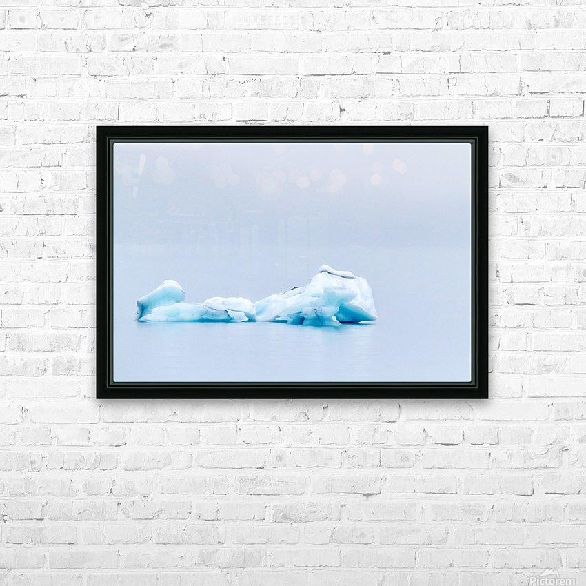 Iceberg Images - Alaska HD Sublimation Metal print with Decorating Float Frame (BOX)
