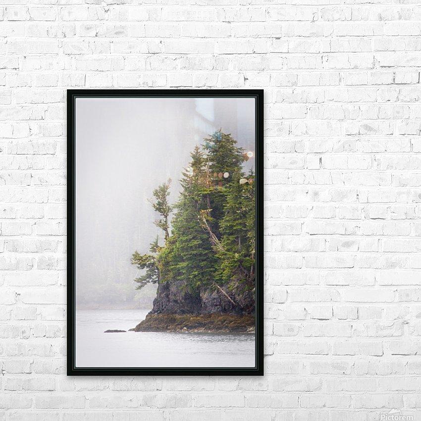 Photos Alaska Mountains HD sublimation métal imprimé avec décoration flotteur cadre (boîte)