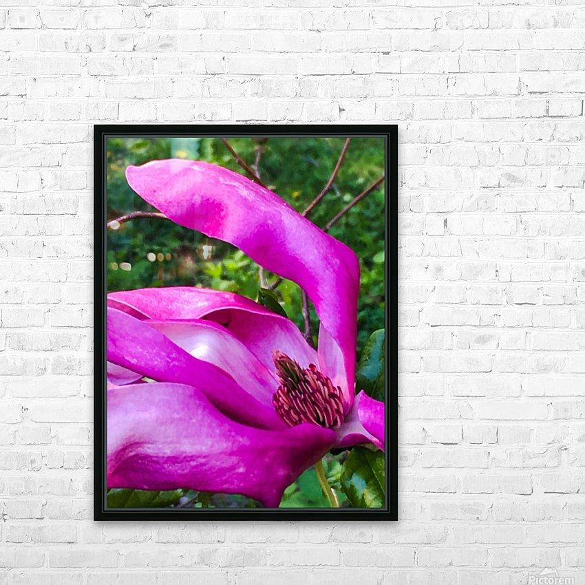 Peaceful pink  HD sublimation métal imprimé avec décoration flotteur cadre (boîte)