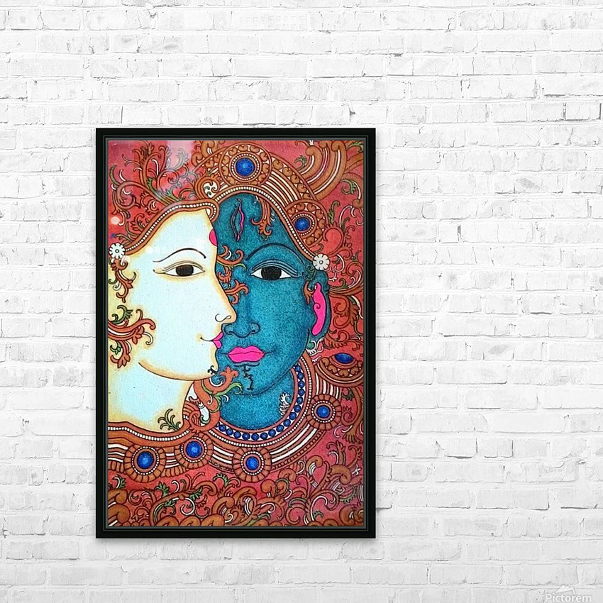 shiva HD Sublimation Metal print with Decorating Float Frame (BOX)