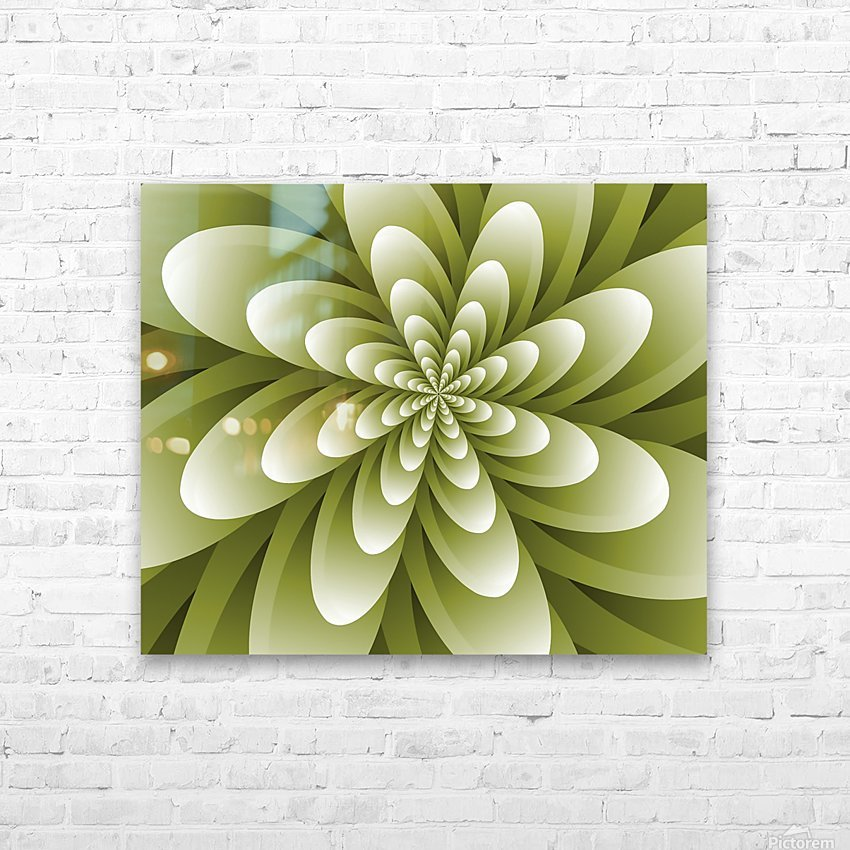Greeny Feel HD Sublimation Metal print with Decorating Float Frame (BOX)