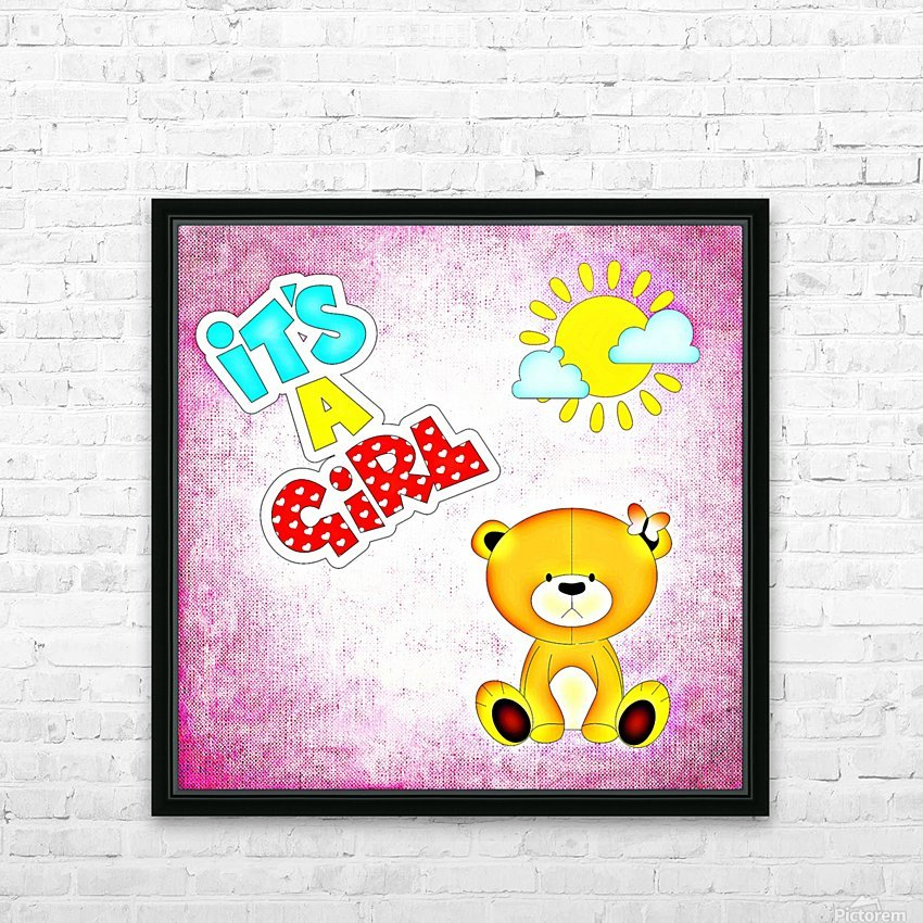 Baby Girl 1_OSG  HD Sublimation Metal print with Decorating Float Frame (BOX)