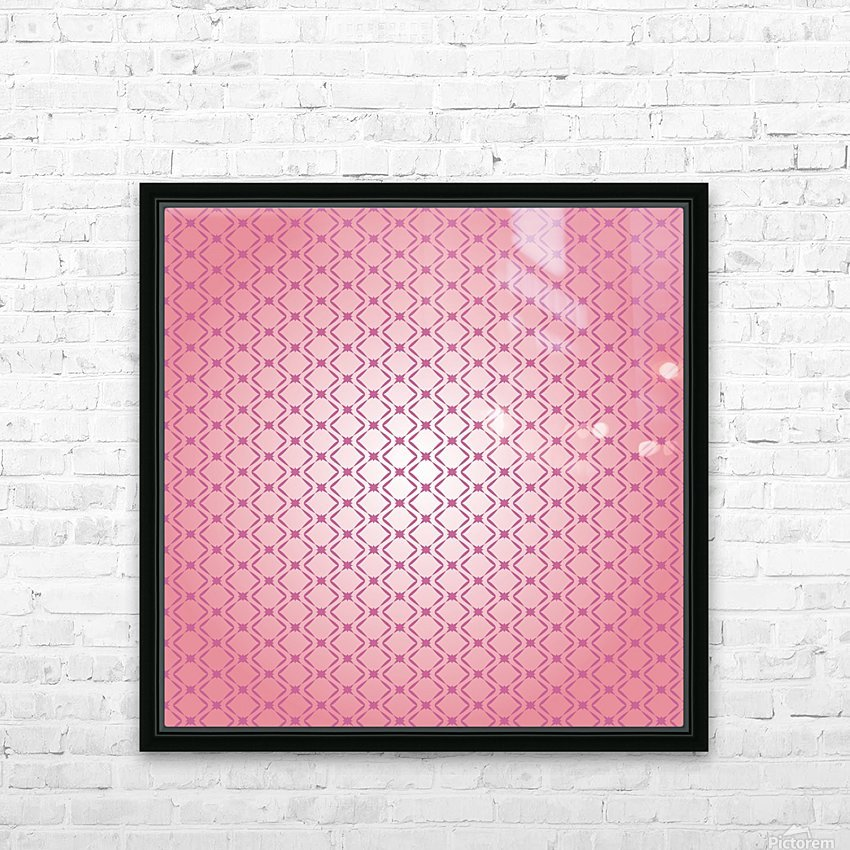 Ornamental Design Artwork HD Sublimation Metal print with Decorating Float Frame (BOX)