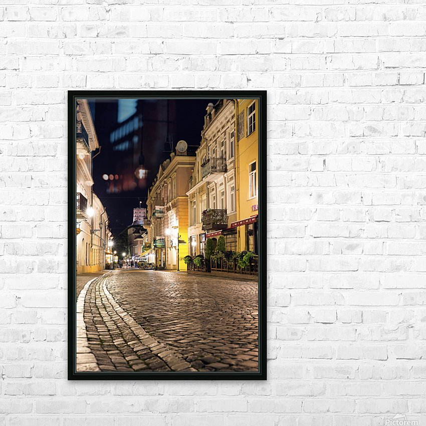 old town HD Sublimation Metal print with Decorating Float Frame (BOX)