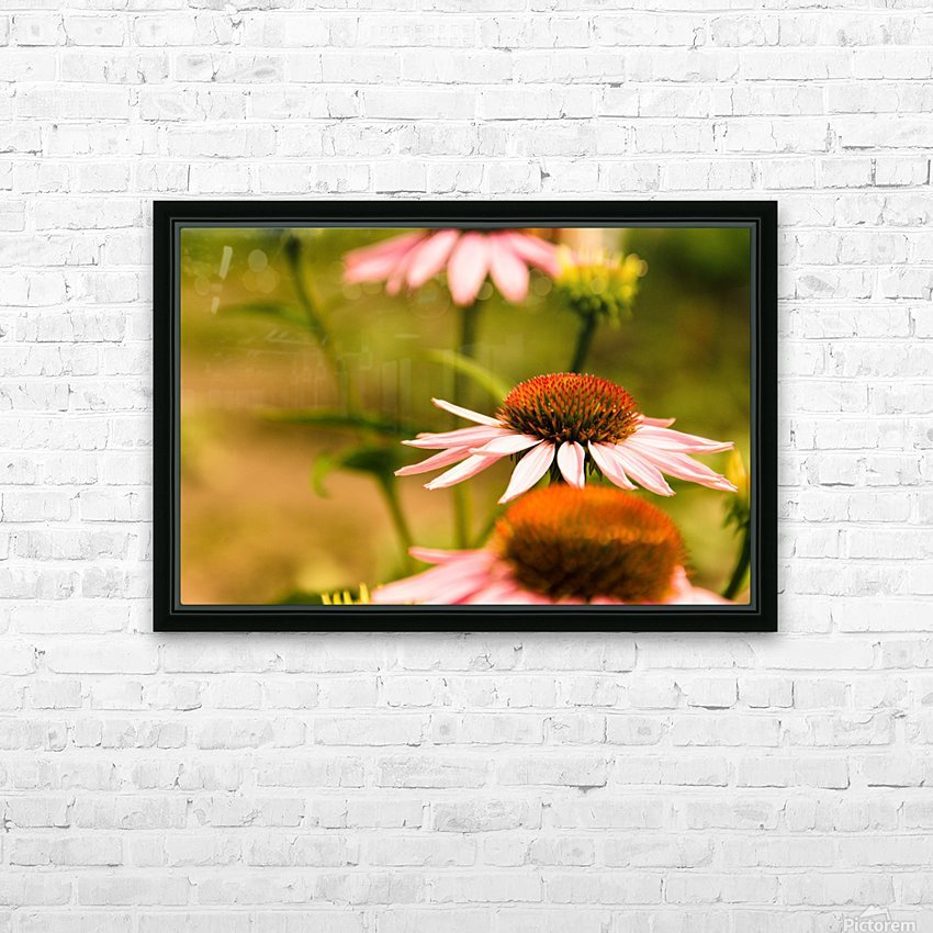 Like Sunflowers HD Sublimation Metal print with Decorating Float Frame (BOX)