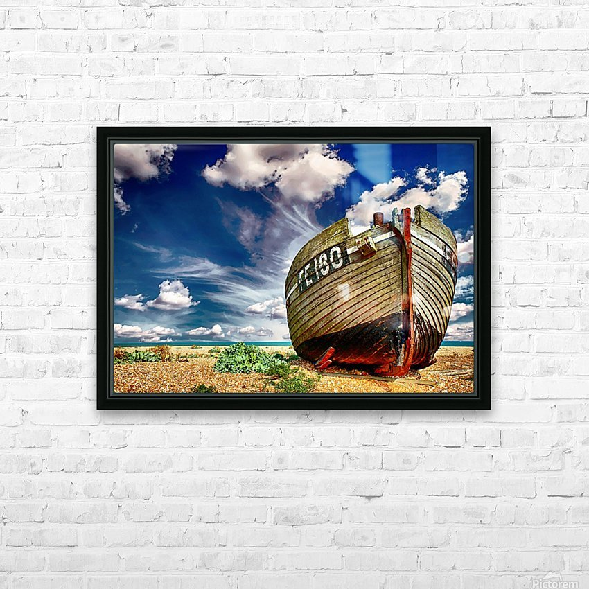 BOAT 01_OSG HD Sublimation Metal print with Decorating Float Frame (BOX)