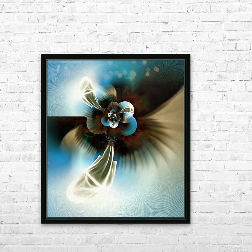 Pilgrim HD Sublimation Metal print with Decorating Float Frame (BOX)