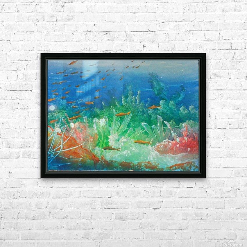 Fantasea HD Sublimation Metal print with Decorating Float Frame (BOX)