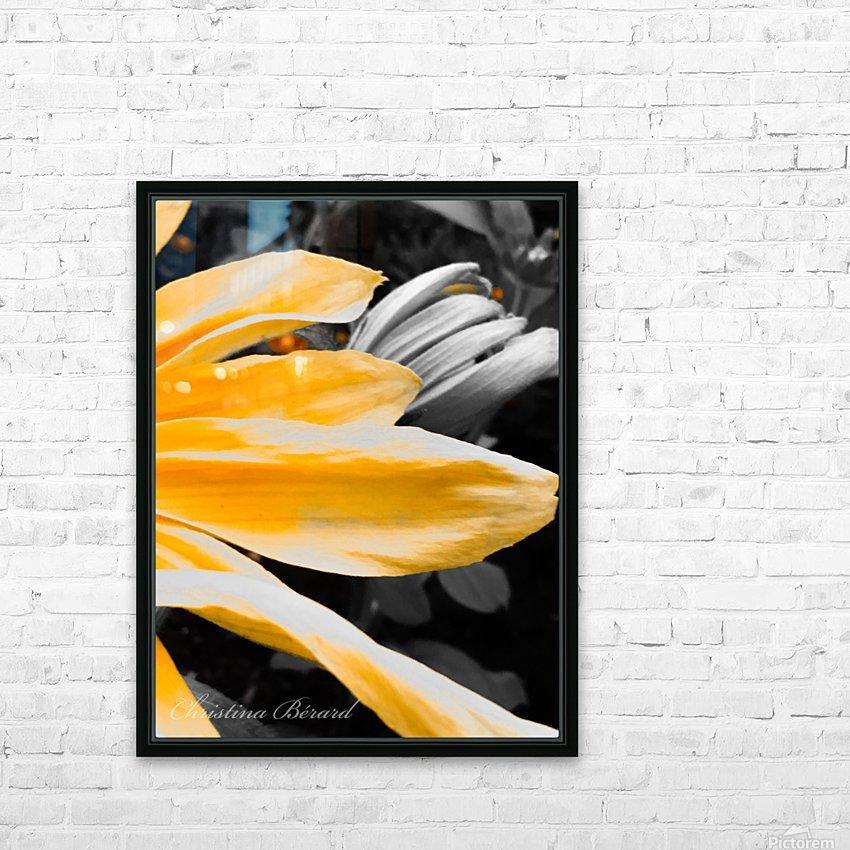 Golden child HD sublimation métal imprimé avec décoration flotteur cadre (boîte)
