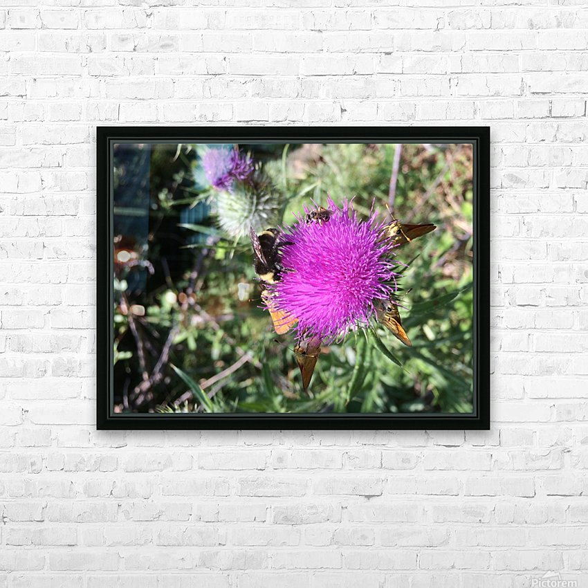 Bug Heaven HD Sublimation Metal print with Decorating Float Frame (BOX)