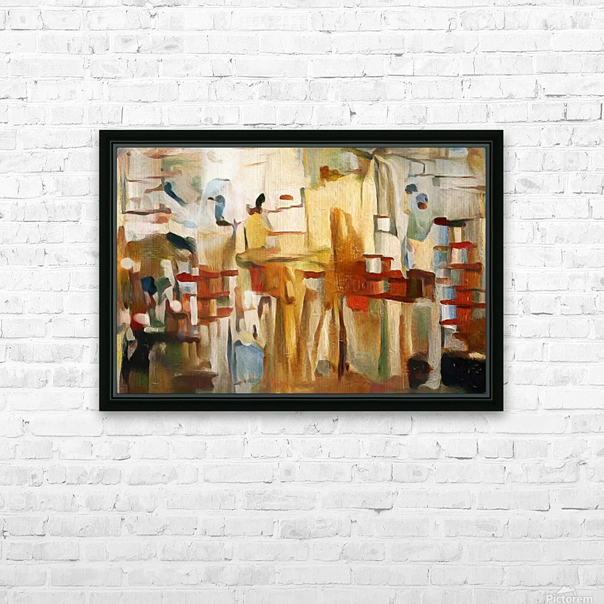 Rusty Shadows HD Sublimation Metal print with Decorating Float Frame (BOX)