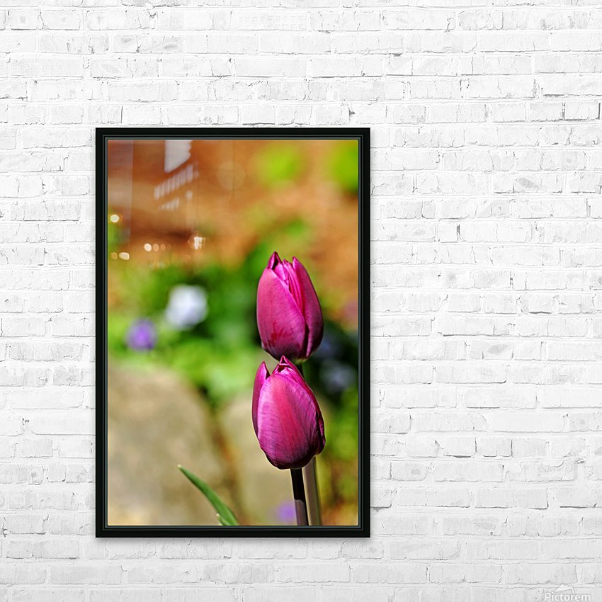 Simple Beauty HD Sublimation Metal print with Decorating Float Frame (BOX)