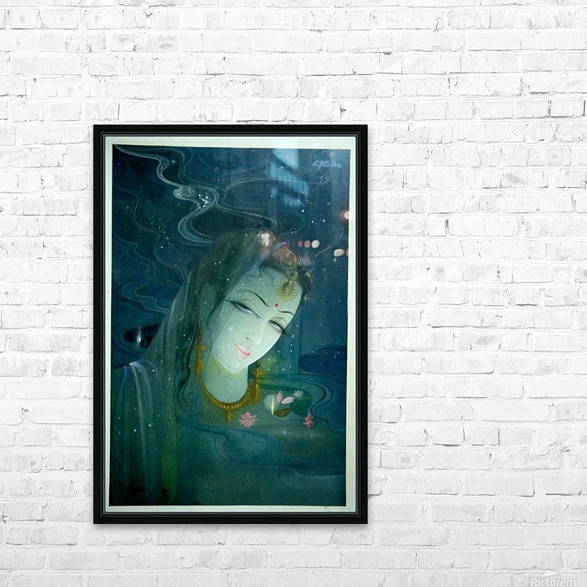 Untitled 6copy HD Sublimation Metal print with Decorating Float Frame (BOX)