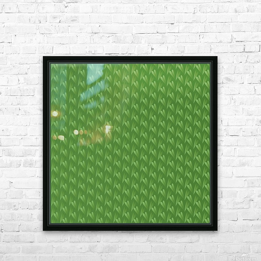 Green Park HD Sublimation Metal print with Decorating Float Frame (BOX)